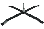 baza steag cruce