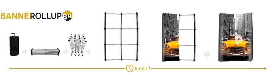 montaj pop-up spider 2x3 curb