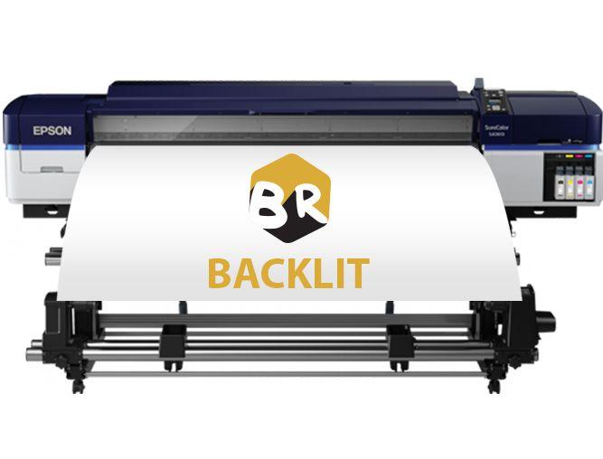 backlit print