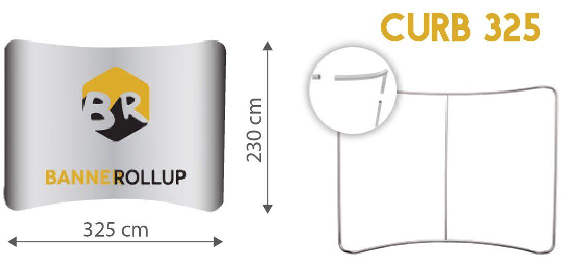 Pop-up textil wave