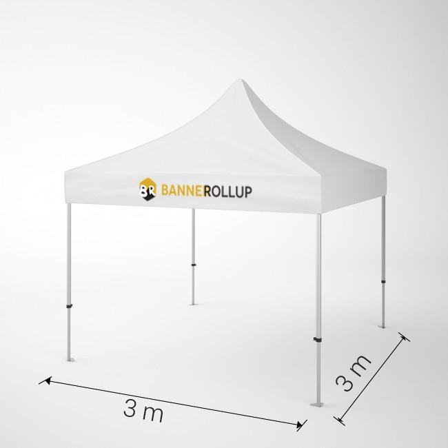 cort pavilion personalizat 3x3m banner-rollup